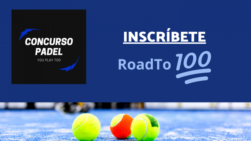 Inscríbete RoadTo 100!!!